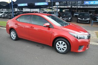 2014 Toyota Corolla ZRE172R Ascent Red 7 Speed CVT Auto Sequential Sedan