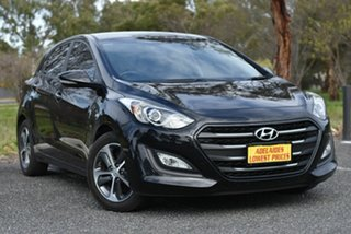 2015 Hyundai i30 GD3 Series II MY16 Active X Black 6 Speed Sports Automatic Hatchback.