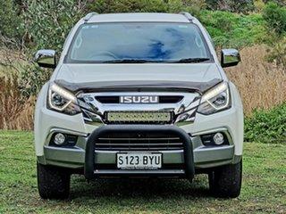 2018 Isuzu MU-X MY18 LS-T Rev-Tronic 4x2 White 6 Speed Sports Automatic Wagon.