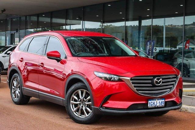 Used Mazda CX-9 TC Touring SKYACTIV-Drive Gosnells, 2017 Mazda CX-9 TC Touring SKYACTIV-Drive Red 6 Speed Sports Automatic Wagon