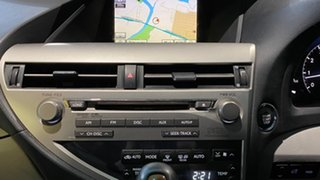 2009 Lexus RX GGL15R RX350 Sports Luxury Grey 6 Speed Sports Automatic Wagon