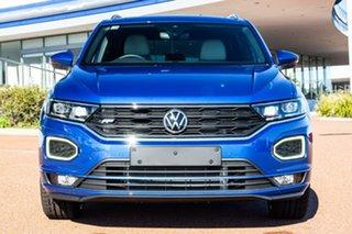 2021 Volkswagen T-ROC A1 MY21 140TSI DSG 4MOTION Sport Ravenna Blue 7 Speed.