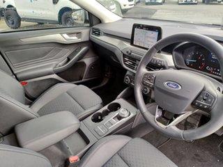 2018 Ford Focus SA 2019MY Titanium Frozen White 8 Speed Automatic Hatchback