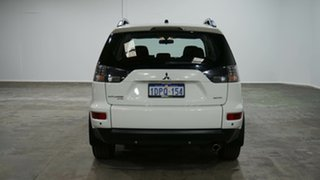 2011 Mitsubishi Outlander ZH MY11 Activ 2WD White 6 Speed Constant Variable Wagon