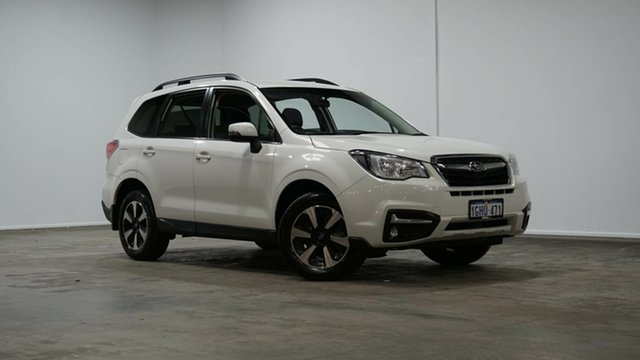Used Subaru Forester S4 MY17 2.0D-L CVT AWD Welshpool, 2017 Subaru Forester S4 MY17 2.0D-L CVT AWD White 7 Speed Constant Variable Wagon