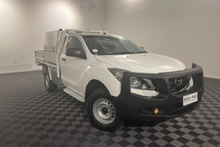 2016 Mazda BT-50 UR0YF1 XT White 6 speed Automatic Cab Chassis.