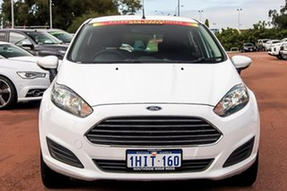 2016 Ford Fiesta WZ Ambiente PwrShift White 6 Speed Sports Automatic Dual Clutch Hatchback