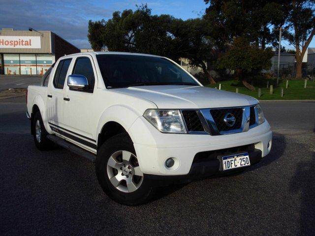 Used Nissan Navara D40 ST-X (4x4) Wangara, 2009 Nissan Navara D40 ST-X (4x4) White 6 Speed Manual Dual Cab Pick-up