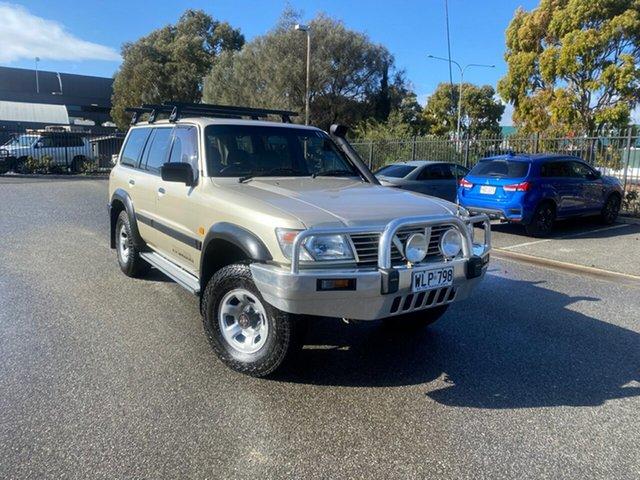 Used Nissan Patrol GU II ST Mile End, 2000 Nissan Patrol GU II ST Gold 5 Speed Manual Wagon