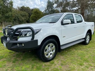 2016 Holden Colorado RG MY17 LT Pickup Crew Cab White 6 Speed Sports Automatic Utility.