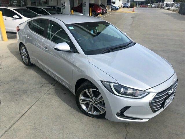 Used Hyundai Elantra AD MY17 Elite Ravenhall, 2017 Hyundai Elantra AD MY17 Elite Platinum Silver 6 Speed Sports Automatic Sedan
