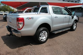 2017 Ford Ranger PX MkII XLT Double Cab Silver 6 Speed Automatic Double Cab Pick Up