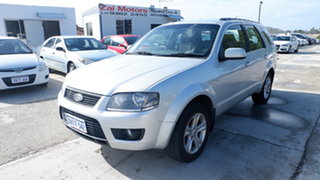 2010 Ford Territory SY MkII TX AWD Silver 6 Speed Sports Automatic Wagon.