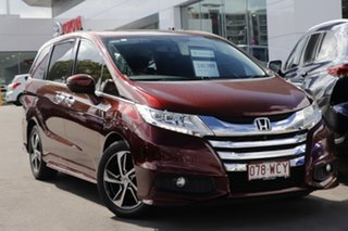 2014 Honda Odyssey RC MY14 VTi-L Burgundy 7 Speed Constant Variable Wagon.