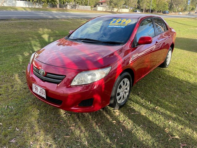 Used Toyota Corolla ZRE152R Ascent Clontarf, 2007 Toyota Corolla ZRE152R Ascent Maroon 4 Speed Automatic Sedan