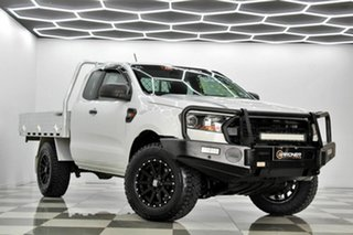 2018 Ford Ranger PX MkIII MY19 XL 3.2 (4x4) White 6 Speed Automatic Super Cab Chassis.