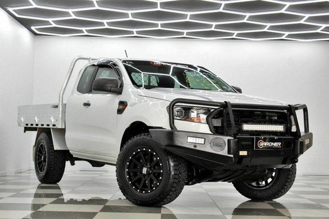 Used Ford Ranger PX MkIII MY19 XL 3.2 (4x4) Burleigh Heads, 2018 Ford Ranger PX MkIII MY19 XL 3.2 (4x4) White 6 Speed Automatic Super Cab Chassis