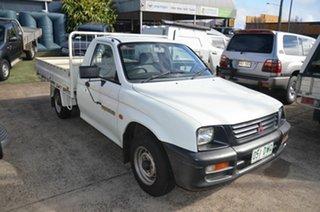 1997 Mitsubishi Triton MK GL White 5 Speed Manual Cab Chassis.