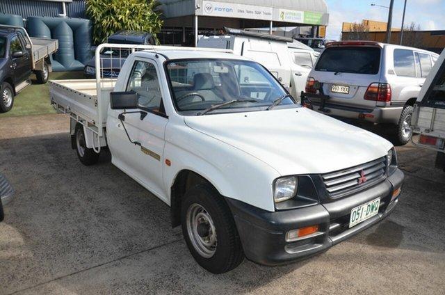 Used Mitsubishi Triton MK GL Toowoomba, 1997 Mitsubishi Triton MK GL White 5 Speed Manual Cab Chassis