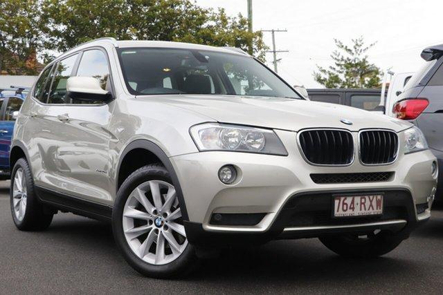 Used BMW X3 F25 MY1011 xDrive20d Steptronic Mount Gravatt, 2011 BMW X3 F25 MY1011 xDrive20d Steptronic Silver 8 Speed Automatic Wagon