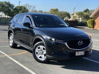 2017 Mazda CX-5 KF2W7A Maxx SKYACTIV-Drive FWD Black 6 Speed Sports Automatic Wagon.