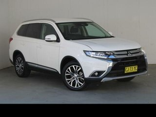 2017 Mitsubishi Outlander ZK MY17 LS Safety Pack (4x2) White Continuous Variable Wagon