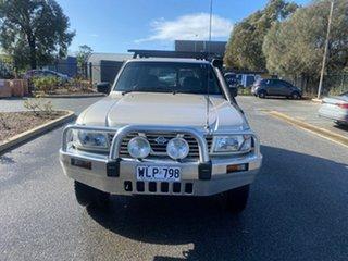 2000 Nissan Patrol GU II ST Gold 5 Speed Manual Wagon.