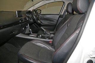 2015 Mazda 3 BM5278 Touring SKYACTIV-Drive White 6 Speed Sports Automatic Sedan