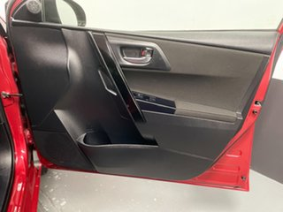 2015 Toyota Corolla ZRE182R Ascent Sport S-CVT Red 7 Speed Constant Variable Hatchback