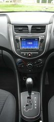 2014 Hyundai Accent RB2 Active Yellow 4 Speed Sports Automatic Hatchback