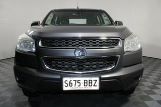 2013 Holden Colorado RG MY14 LX Crew Cab Grey 6 Speed Sports Automatic Utility.