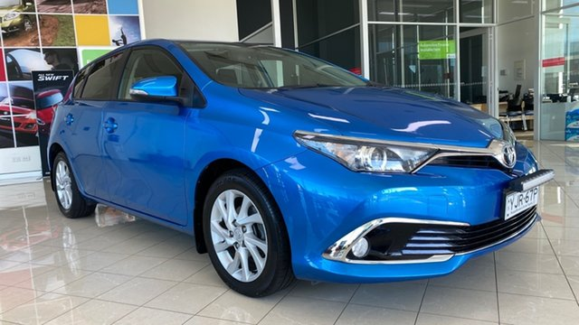 Used Toyota Corolla ZRE182R Ascent Sport S-CVT Cardiff, 2017 Toyota Corolla ZRE182R Ascent Sport S-CVT Blue 7 Speed Constant Variable Hatchback