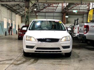 2006 Ford Focus LS CL White 4 Speed Sports Automatic Sedan.