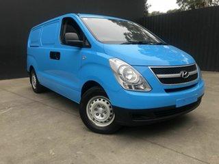 2013 Hyundai iLOAD TQ MY13 Blue 6 Speed Manual Van.