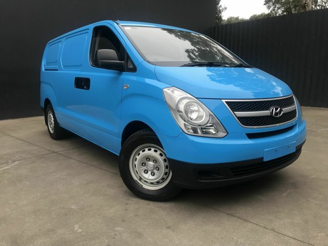 Used Hyundai iLOAD TQ MY13 Fawkner, 2013 Hyundai iLOAD TQ MY13 Blue 6 Speed Manual Van