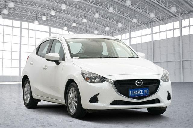 Used Mazda 2 DJ2HAA Maxx SKYACTIV-Drive Victoria Park, 2016 Mazda 2 DJ2HAA Maxx SKYACTIV-Drive White 6 Speed Sports Automatic Hatchback