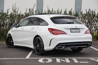 2019 Mercedes-Benz CLA-Class X117 809MY CLA200 Shooting Brake DCT Polar White 7 Speed.