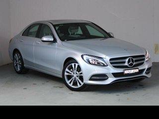 2014 Mercedes-Benz C200 W204 MY14 Iridium Silver 7 Speed Automatic G-Tronic Sedan