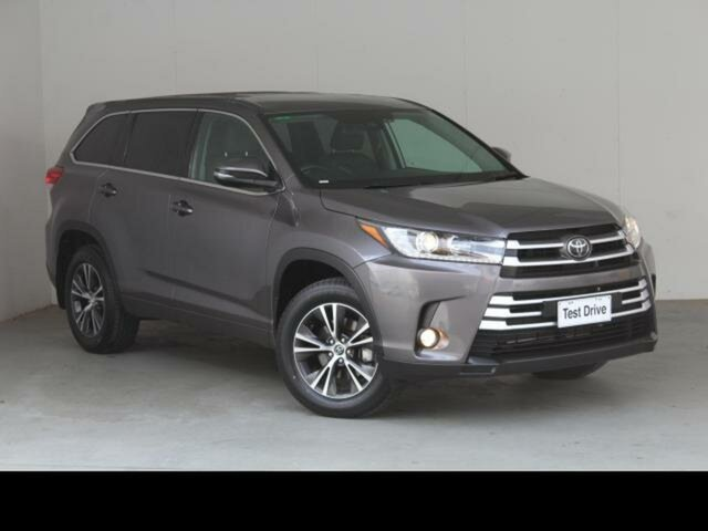 Used Toyota Kluger Belconnen, 2019 Toyota Kluger Predawn Grey Automatic Wagon