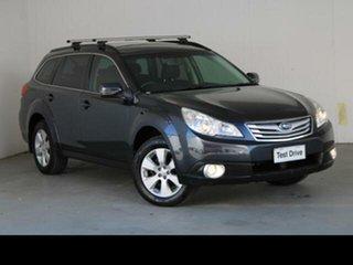 2010 Subaru Outback MY10 2.5i AWD Atlantic Blue Continuous Variable Wagon