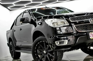 2014 Holden Colorado RG MY15 LT (4x4) Black 6 Speed Automatic Crew Cab Pickup.
