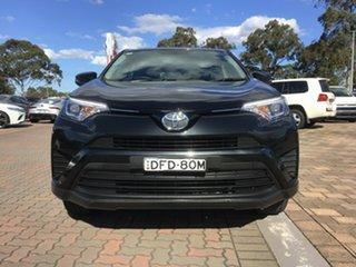 2016 Toyota RAV4 ZSA42R GX 2WD Black 7 Speed Constant Variable SUV