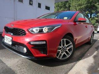 2018 Kia Cerato BD MY19 Sport Red 6 Speed Sports Automatic Sedan.