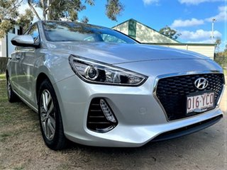 2018 Hyundai i30 PD MY18 Active Platinum Silver 6 Speed Sports Automatic Hatchback.