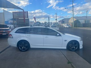 2013 Holden Commodore VE II MY12.5 SV6 Z-Series White 6 Speed Automatic Sportswagon.