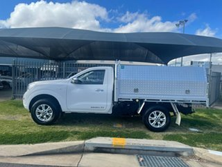 2019 Nissan Navara D23 Series 4 MY20 RX (4x4) White 7 Speed Automatic Cab Chassis