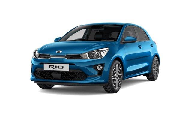 New Kia Rio YB MY21 Sport Cardiff, 2021 Kia Rio YB MY21 Sport Sporty Blue 6 Speed Automatic Hatchback