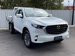 2021 Mazda BT-50 TFS40J XT Freestyle Ice White 6 Speed Sports Automatic Cab Chassis.