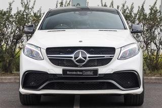 2018 Mercedes-Benz GLE-Class C292 MY809 GLE63 AMG Coupe SPEEDSHIFT PLUS 4MATIC S Diamond White