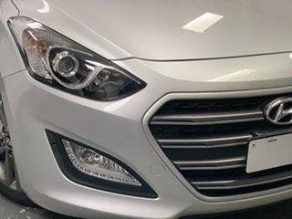 2015 Hyundai i30 GD4 Series II MY16 SR Silver 6 Speed Sports Automatic Hatchback.